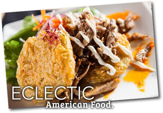 Eclectic American Food
